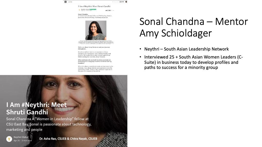 Women in Leadership Presentation Slide 4