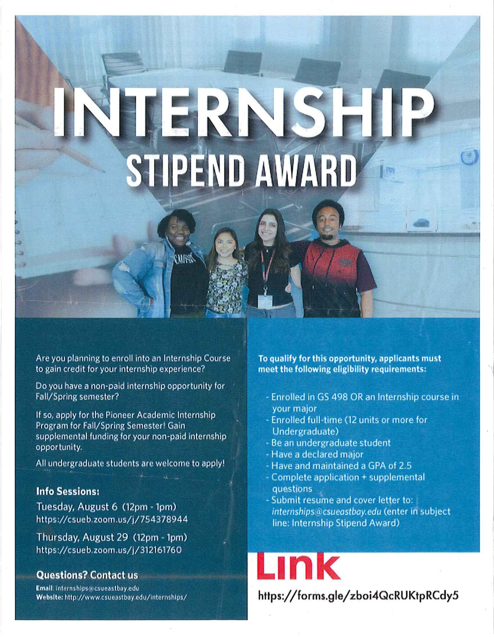 Stipend Internship