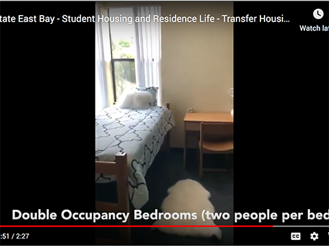 Student Housing at Pioneer Heights, click the text link to visit the tours
