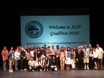 CSUEB's American Language Program (ALP) hosts annual GradFest, honoring former ALP students graduating from CSUEB in 2014.