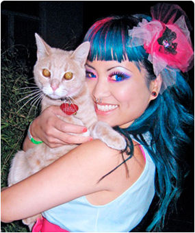Amy Doan is the founder and designer of Sugarpill Cosmetics and Shrinkle Clothing.