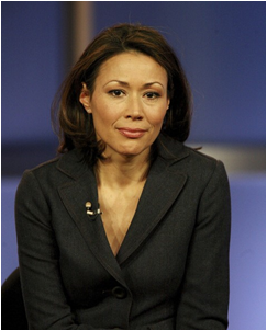 News Anchor Ann Curry by: Frederick M. Brown