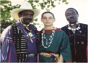 intertribal group of people with African-American and Native American heritage (bt: bnaa.org)