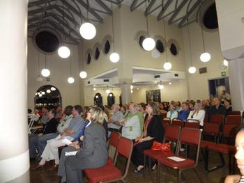 Attendees at University of Pretoria's Open Evening in 2012. This year their concert will be held with the aphasia program at CSUEB via Skype. (Photo: University of Pretoria)
