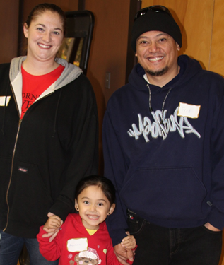 Photo gallery from the 2012 Hayward Adopt-A-Family event.