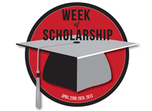 logo for CSUEB Week of Scholarship 2013