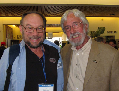 Chris Kitting and  Jean-Michel Cousteau  (by: Chris Kitting)