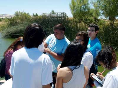 42 Contra Costa County high school students attended the 2011 Environmental Sciences Camp at the CSUEB Concord campus.