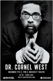 West will speak at CSUEB on Nov 17. (Photo: ASI)