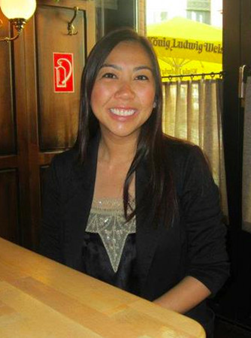 Head shot of CSUEB alumna Christina Thai, new social studies teacher at South San Francisco High School