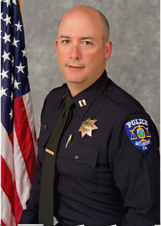 Belmont Police Chief Daniel J. DeSmidt earned his MPA from Cal State East Bay. (Photo: Belmont Patch)