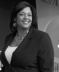 Head shot of Dawn Ellerbe, assistant athletic director at CSUEB and Olympian