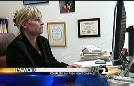 Elizabeth Bergman spoke to KTVU from her CSUEB office. by: KTVU