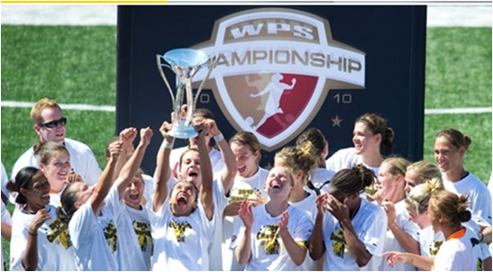 FC Gold Pride wins 2010 WPS title at CSUEB's Pioneer Stadium (Image: womensprosoccer.com)