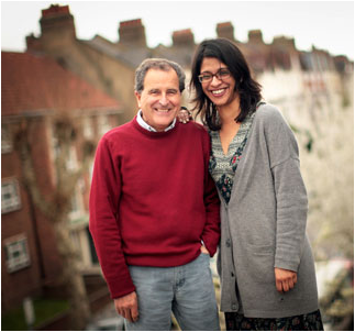 Nicolas Kent and Indhu Rubasingham  ( courtesy of Berkeley Repertory Theatre)