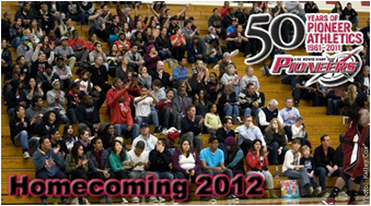 CSUEB Homecoming '12 culminates with Pioneer baseball hosting Westmont and Menlo College on Feb 12.
