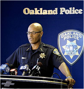 Assistant Chief Howard Jordan of Oakland Police Department (Photo: Eric Risberg, Associated Press)