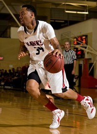 Jarred Jourdan joins CSUEB basketball for the 2103-14 season. (By: CSUEB Athletics)