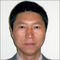 Head shot of Assistant Professor of Management Jiming Wu (California Smart Business magazine)