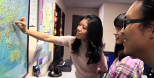 Before working at CSUEB ALP, Kelly Pan was an international student from Beijing, China.