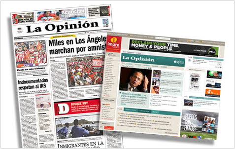 La Opinion  newspaper