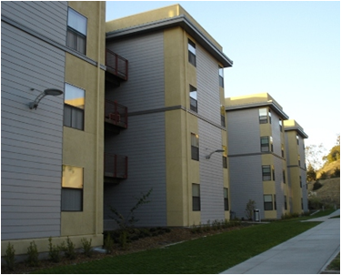 Pioneer Heights student housing at Cal State East Bay