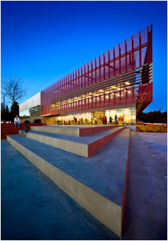 CSUEB's rec and wellness building won another award for its sustainable design. (Photo: LPA, Inc.)