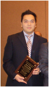 CSUEB Accounting and Finance Professor Scott Fong received 2009 SWFA Best Paper in Investments Award