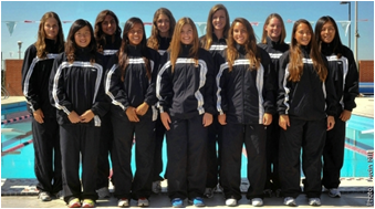 CSUEB swim team  2011-2012