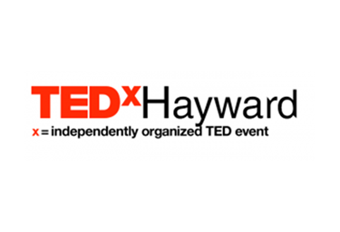 Image of the TEDxHayward logo