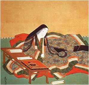 Illustration of author Murasaki Shikibu (Source: wikipedia.com)