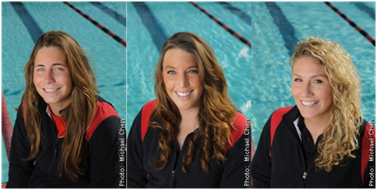 Left to Right, Claire Pierce, Erica Crain and Jayme Pekarske (By: Michael Chen)