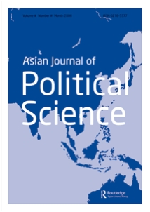 """Asian Journal of Political Science"" published an articled by CSUEB Assistant Professor Maria Ortuoste. (Image: Taylor & Francis Online)"