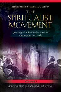 Image of a book cover on spiritualism published by Dr. Christopher Moreman, an expert in comparative religion