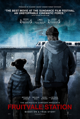 Movie poster of 'Fruitvale Station'