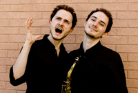 Le Boeuf Brothers will perform on campus Oct. 1.
