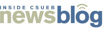 News Blog Logo with caption: INSIDE CSUEB news blog