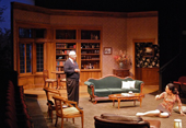 """A Delicate Balance"" set at the Aurora Theatre was created by Richard Olmsted."