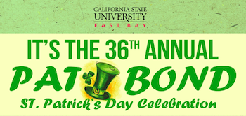 36th Annual Pat Bond St. Patrick's Day Celebration