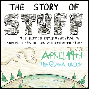 """The Story of Stuff"" will be shown at CSUEB on April 19. (Image: storyofstuff.org)"