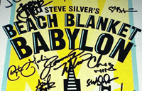 A signed Beach Blanket Babylon poster, plus tickets, will be among the auction offerings.