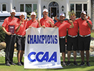 Pioneers Capture First CCAA Men's Golf Championship in Program History