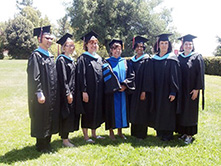 CSUEB's MS in Online Teaching and Learning graduates come together for the program's 15th annual graduation celebration.