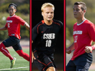 CSUEB Men's Soccer Boasts Team-Record Three All-CCAA Honorees