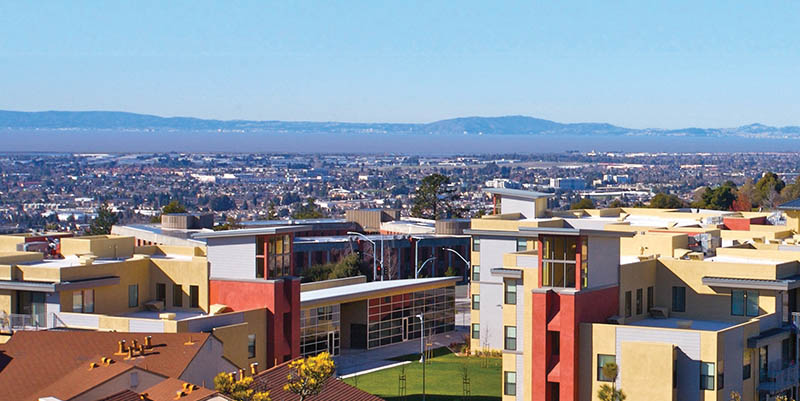 Student Housing view