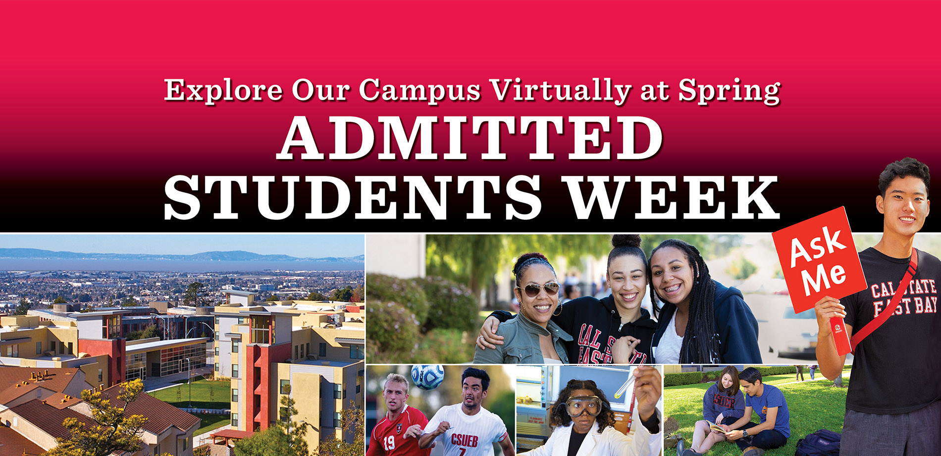 Spring Admitted Students week banner